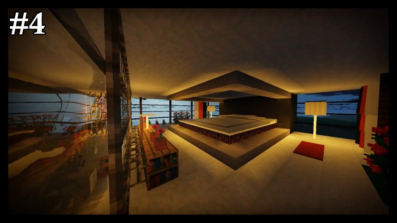 Lets Build Modern House Sypialnia 4 Minecraft