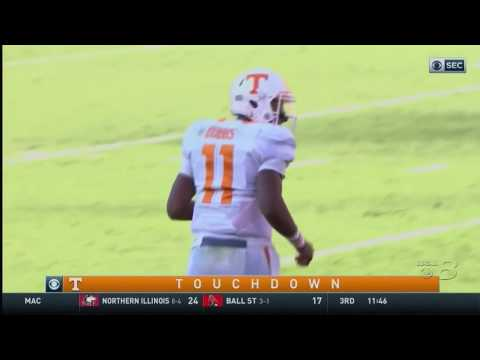 Highlights: #11 Tennessee 34, #25 Georgia 31 (Oct. 1, 2016)