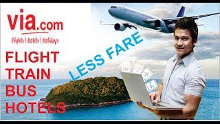 COMPARE ALL FLIGHT ON VIA COM