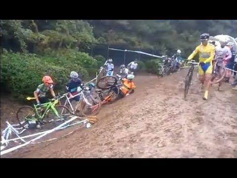 Quand tu fais du cyclo-cross... (drôle, chutes, insolite...) - YouTube