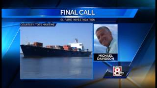 El Faro's final call played at hearing
