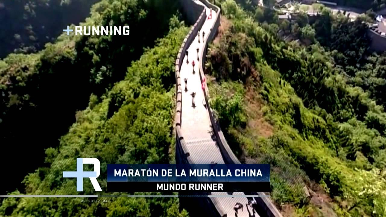 Maraton de la gran muralla china youtube for Q es la muralla china