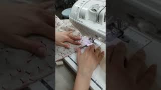 재봉틀배우기 미싱배우기 벚꽃 양면 에코백만들기