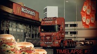 Euro Truck Simulator 2 - Tomato Ketchup to McDonalds - Timelapse #22