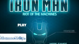 Iron Man Riot Of The Machines - Game Show