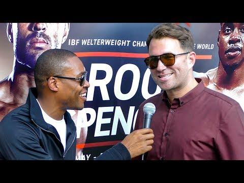 EXCLUSIVE: Eddie Hearn on ANNOUNCING Anthony Joshua vs Wladimir Klitschko REMATCH!!!