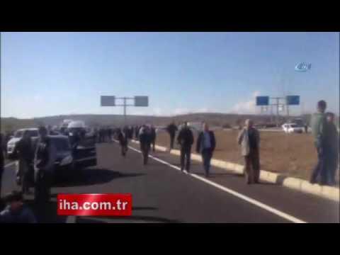 Mardin'de askeri aracın geçişi sırasında patlama 2 şehit