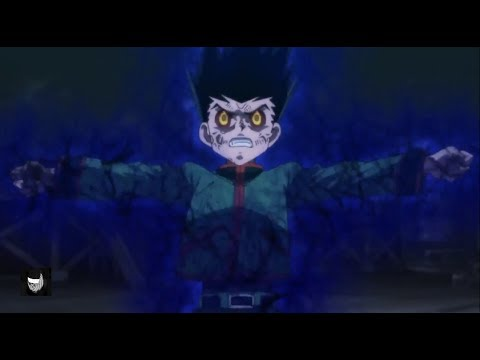 Gon uses the forbiddden power ON - Hunter × Hunter: The Last Mission