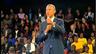 President Obama Comments on Africa
