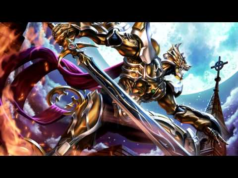 [HD] GARO ガロ : DIVINE FLAME MOVIE OST BGM -12 LEÓN THEME SHOUKAN 陰我を断ち斬る天の剣-天剣煌身ガロ召還