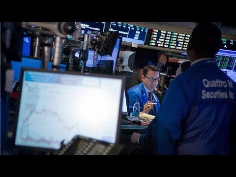 US stocks tumble amid political uproar over Trump's firing of Comey