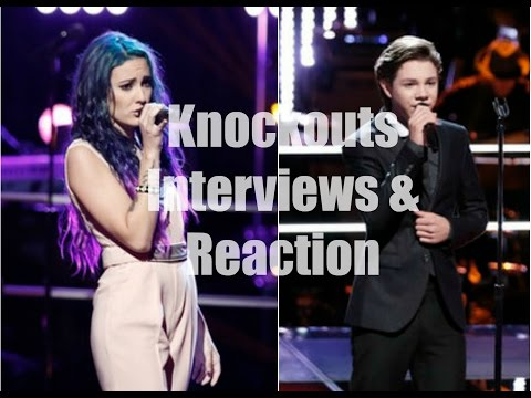 Braiden Sunshine vs. Ellie Lawrence The Voice Season 9 Knockouts Interviews & Reaction