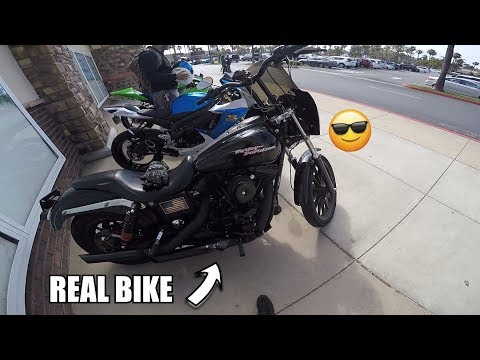first-time-on-a-harley!-|-harley-davidson-dyna-|-harley-vs-sport-bikes