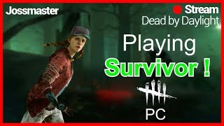 """🔴DBD ON PC!""""🔴LETS GET BACK TO RANK 1!🔪DOUBLE BLOODPONITS🔪!!!"""