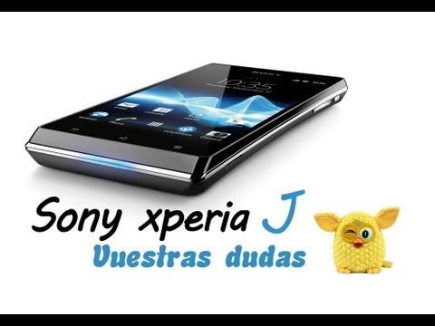 Sony xperia J (Respondiendo dudas)