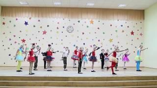 """Образцовый ансамбль танца """"Лiхтарыкi"""" Гимназия № 7 г. Гродно"""