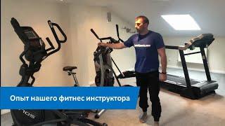 постер к видео Эллиптический тренажер сколько заниматься. Опыт нашего фитнес инструктора.