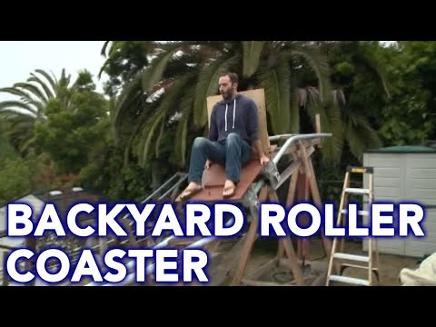 Heath West - Dad Giving Away Backyard Roller Coaster He Built