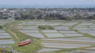 2017年 田植えの頃のいすみ鉄道を往く キハ28・52