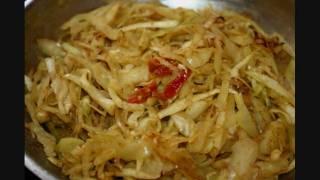 A Classic Vegetarian Curry Cabbage Recipe.