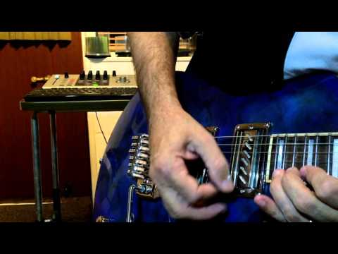 "JJL One Guitar -  ""Liberty Blues"" played by Mark Owers"