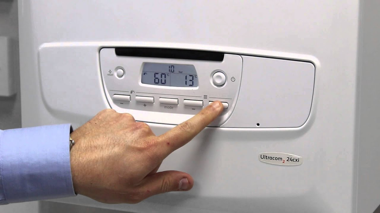 Adjust The Heating  U0026 Hot Water Of A Glow-worm Boiler - Ultracom2
