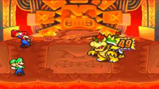 Mario & Luigi Partners in Time: Boss Fight 10 (Bowsers)