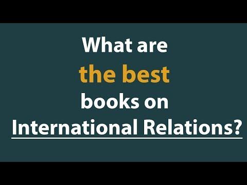 Best books on international relations