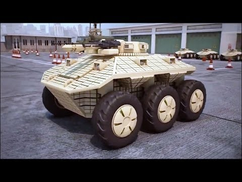 Dahir Insaat - Unmanned Ground Combat Vehicle (GCV) Combat Simulation [720p]