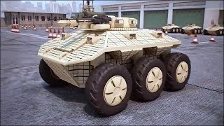 Dahir Insaat - Russia Unmanned Ground Combat Vehicle (GCV) Combat Simulation [720p]
