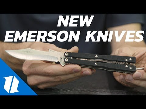 NEW Emerson Knives | Blade Show 2017