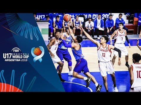 Canada def. Batang Gilas, 102-62 (REPLAY VIDEO) FIBA U17 Basketball World Cup 2018