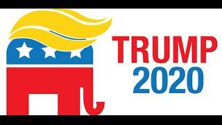 Trump 2020 Bumper Sticker Trump 2020 Car Bumper Sticker