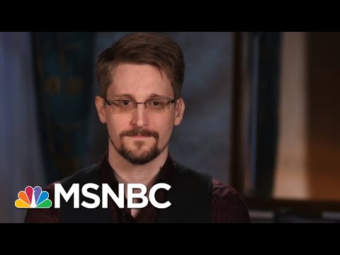 Full Interview: Edward Snowden On Trump, Privacy, And Threat