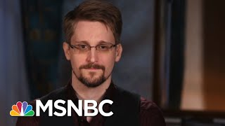 Full Interview: Edward Snowden On Trump, Privacy, And Threats To Democracy | The 11th Hour | Msnbc