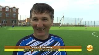 Как борцы в футбол играли_игровая тренировка сборной Дагестана
