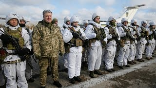 ukraine requests nato military buildup imposes martial law as russia sends troops to border