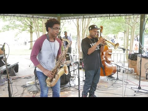 Russell Gunn - No Blues @ Music in the Park ATL, West End - Sun May/1/2016