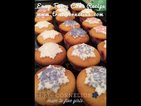Easy Fairy Cake Recipe