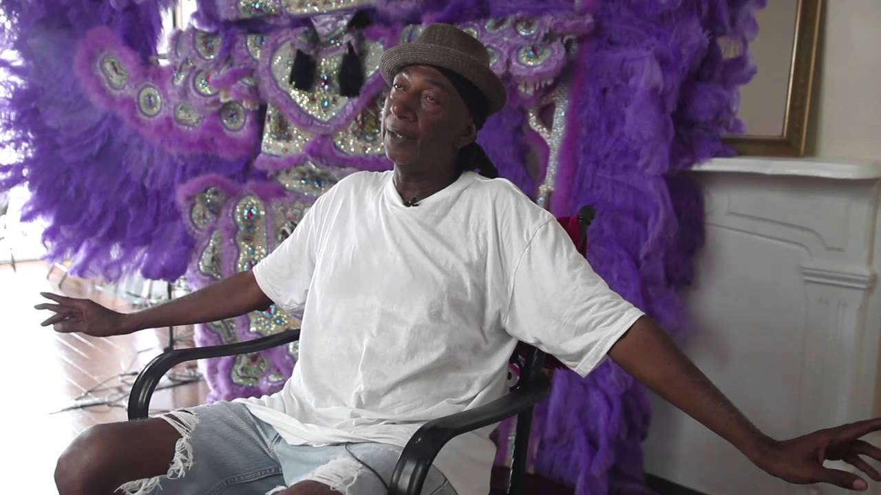 Creole Wild West Mardi Gras Indian chief Howard Miller