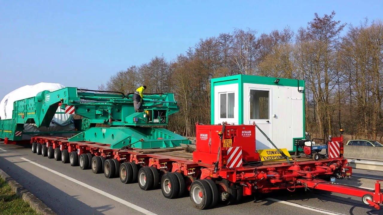 convoi exceptionnel 109 m tres de long 800 tonnes youtube. Black Bedroom Furniture Sets. Home Design Ideas