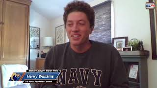 US Navy Water Polo Commit Henry Williams from Steele Canyon