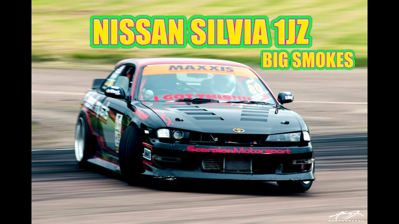Exceptionnel 🐒 NISSAN SILVIA S14 1JZ DRIFT CAR   YouTube