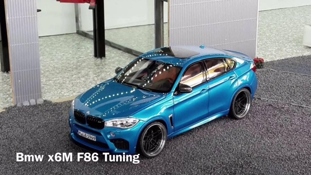 bmw x6m f86 1 18 tuning blau 1080p full hd youtube