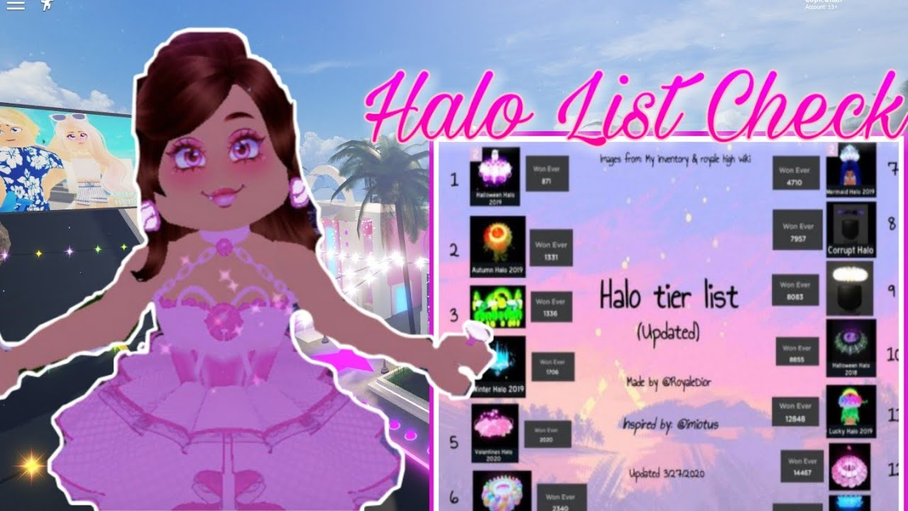 How To Get A Halo In The Trading Hub Halo List Youtube