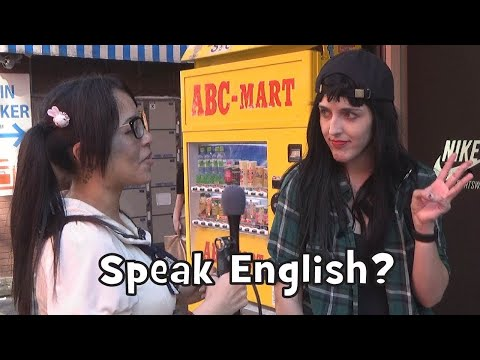 Do Westerners in Japan Really Speak English? (Social Experiment)