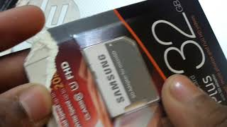 Samsung Evo+ 32Gb Memory Card Unboxing From Flipkart || Price And More