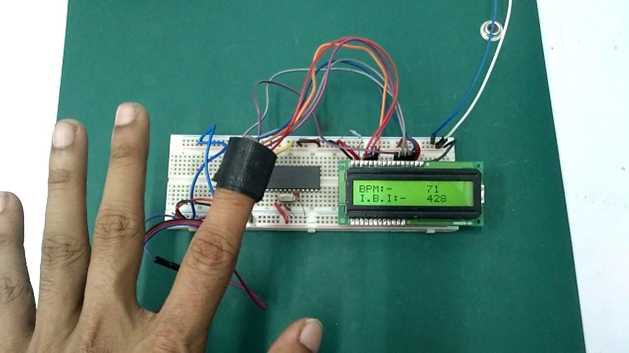 Pic18f1220 Potentiometer Circuit Breadboard Schematic
