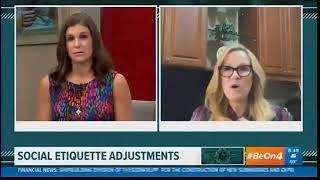 Etiquette Expert Sharon Schweitzer on WWL-TV Eyewitness News at 8AM
