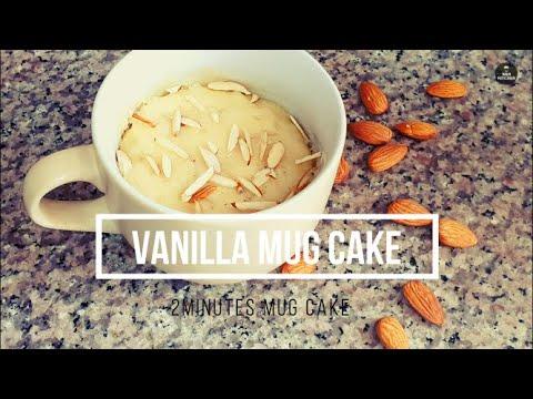 2 MINUTES MUG CAKE RECIPE   EGG-LESS MICROWAVE MUG CAKES ...